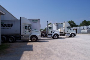 DFI Trucks 3 fleet close up